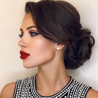 Thin hair updo's